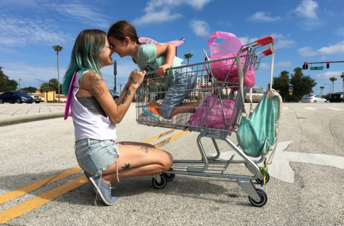 The Florida Project Brooklynn Prince Bria Vinaite