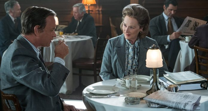 The Post Meryl Streep Tom Hanks Steven Spielberg